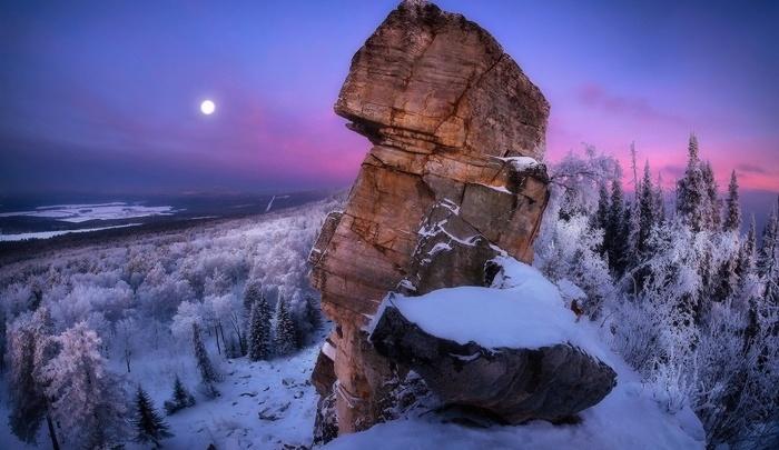 В Башкирии в лесу нашли живыми обмороженных туристов
