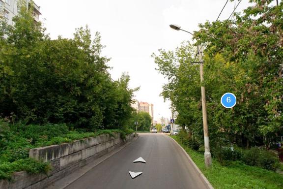 Узкий Боготольский переулок в районе Копыловского моста готовят к расширению