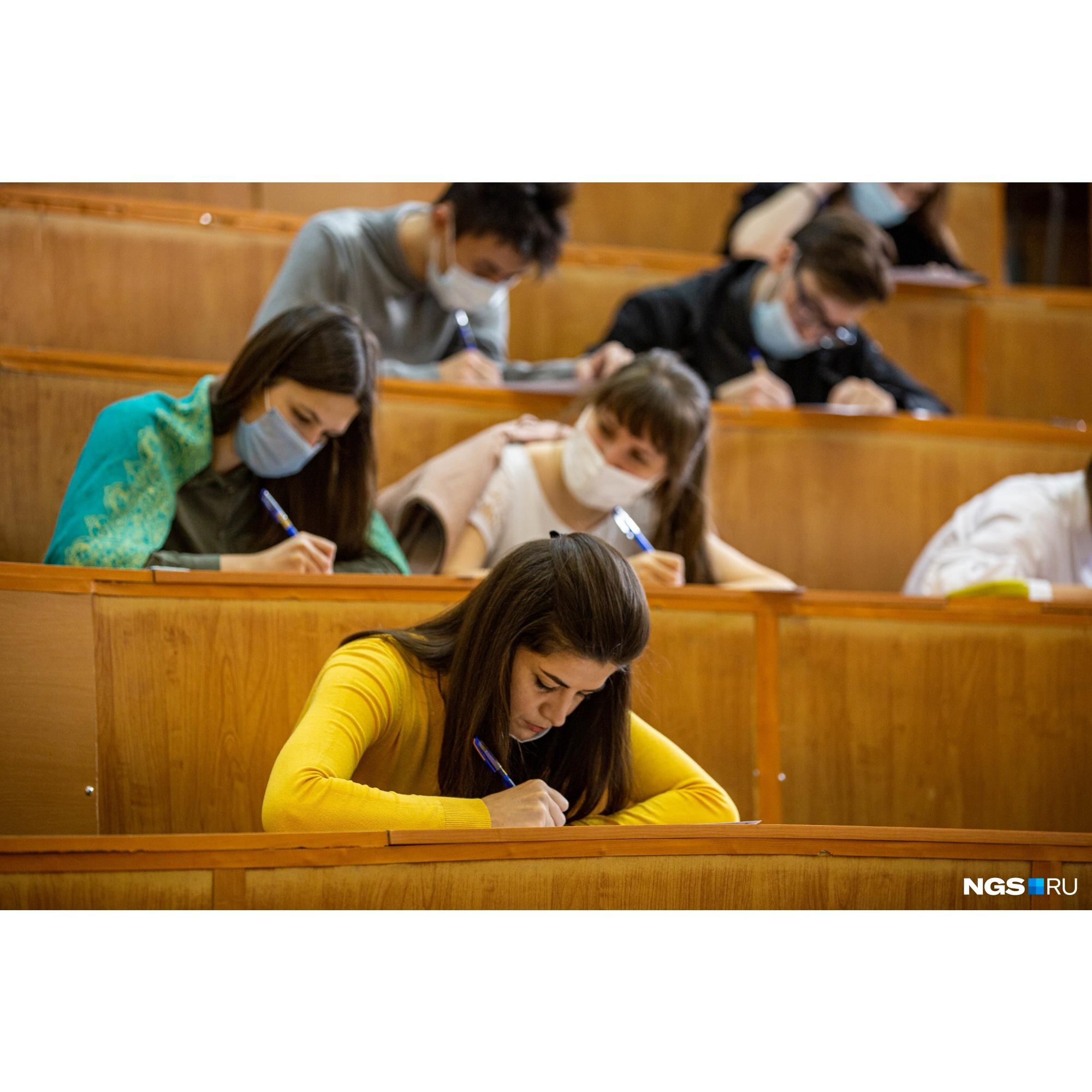 Диктант пишут в разных городах России, но в Новосибирске его провели впервые