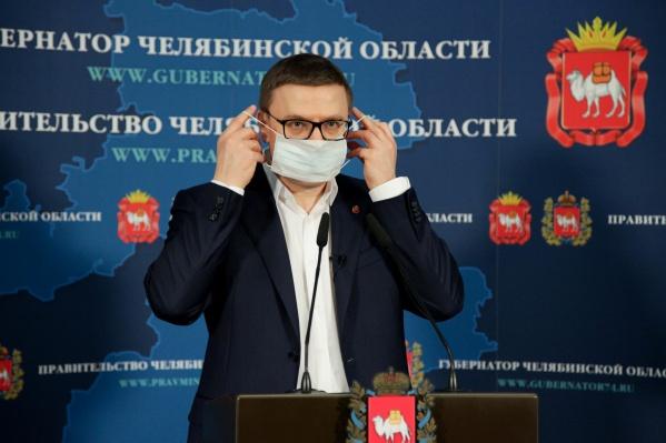 Алексей Текслер соблюдает все меры предосторожности
