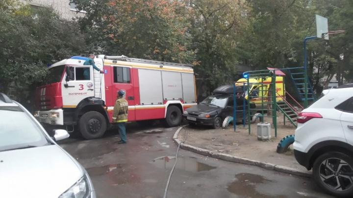 Комнаты оказались завалены мусором: у Автовокзала во время пожара погиб мужчина