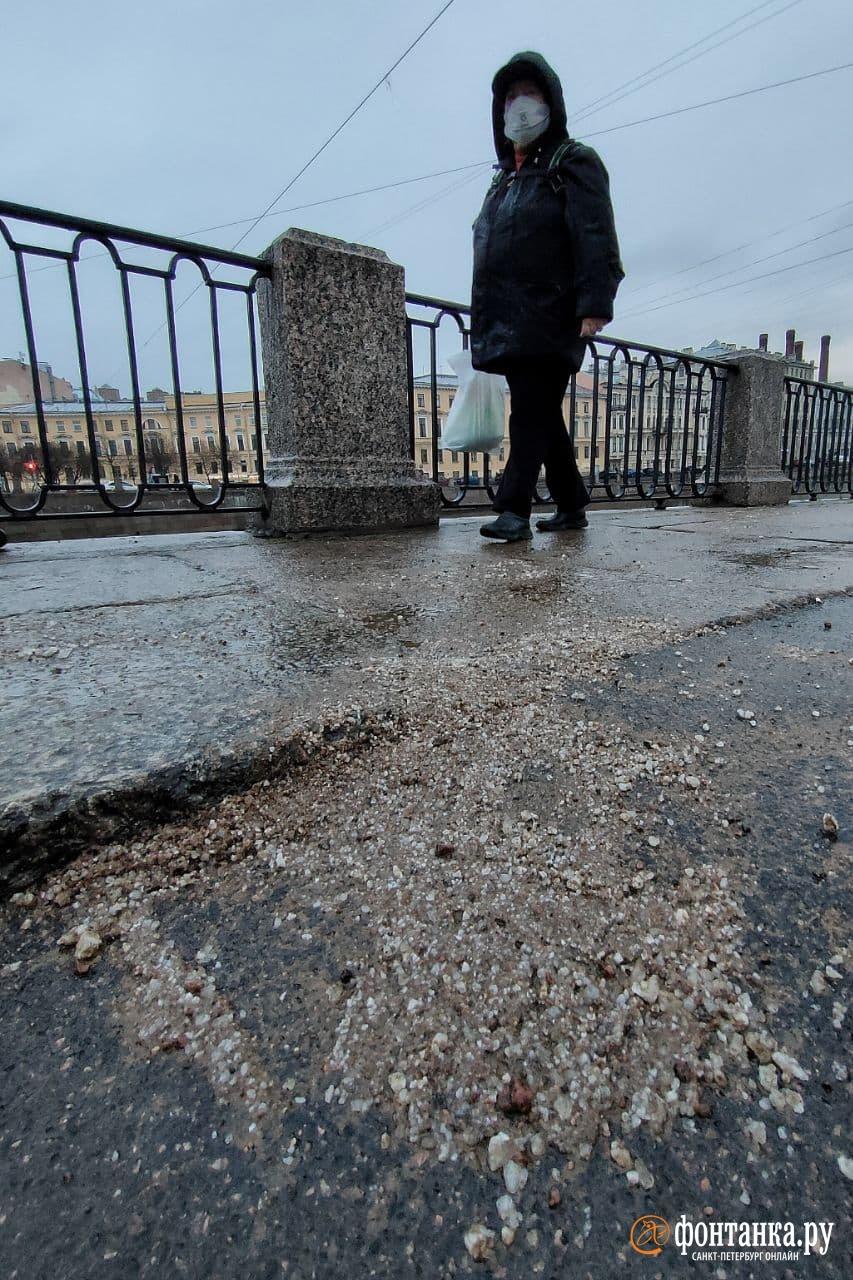 перекресток набережной реки Фонтанки и Гороховой улицы днем 27 ноября<br><br>автор фото Михаил Огнев / «Фонтанка.ру»<br>