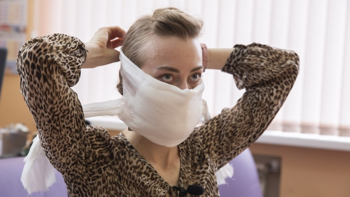 Как сделать медицинскую маску своими руками. Видео