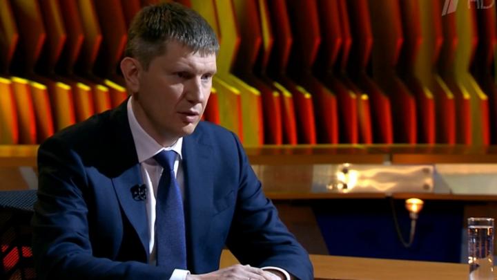 Максим Решетников ответил на вопросы Владимира Познера о кризисе, поддержке бизнеса и вероятности дефолта