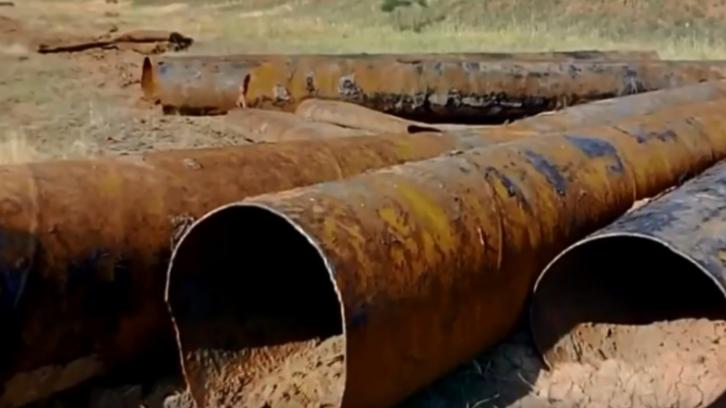 Под Волгоградом братья украли 7,5 километров оросительных труб