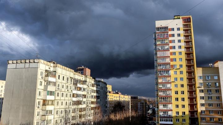 МЧС предупреждает: грозы и сильный ветер идут в Нижний Новгород