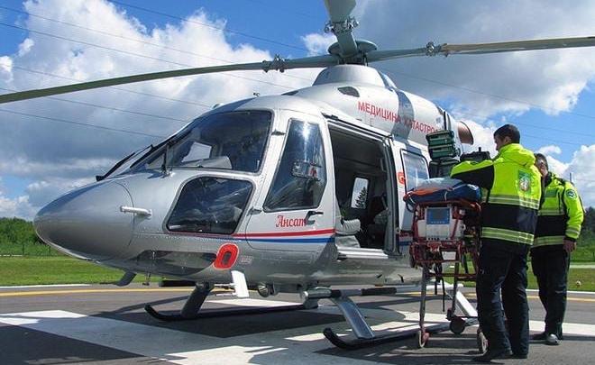 В Кузбассе началось строительство 22 вертолетных площадок для санавиации. Но вертолетов нет