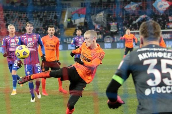 Один из героев матча Андрей Егорычев сравнивает счет в первый раз