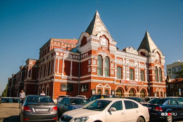 Здание построили в 1888 году