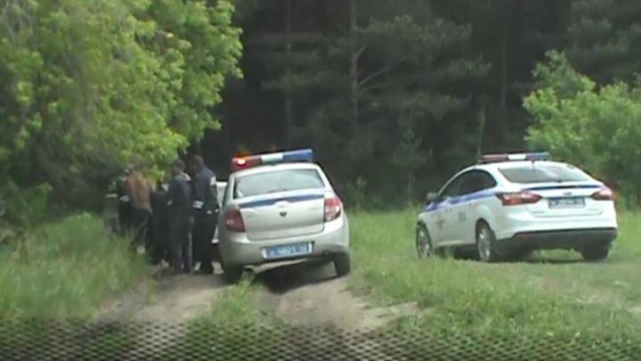 Новокузнецкие полицейские открыли стрельбу во время погони