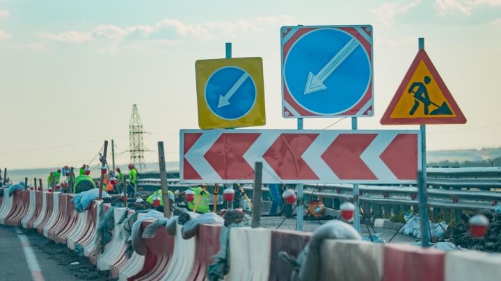 Гигантская пробка возникла на трассе М-4 на въезде в Ростовскую область