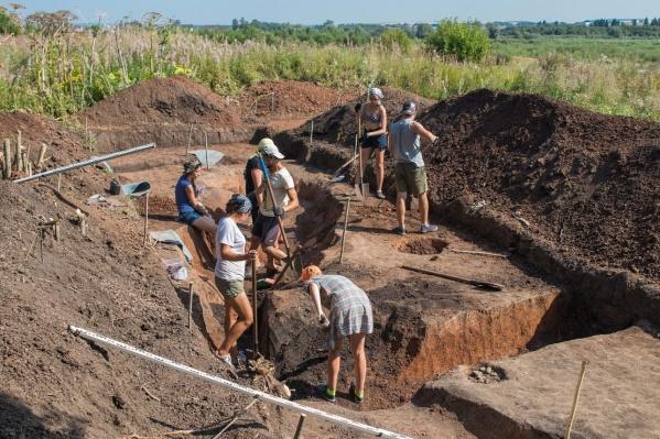 Каждый год университет участвует в археологических раскопках