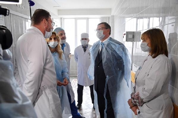 Если ситуация будет ухудшаться, БСМП-2 полностью перейдёт на лечение больных коронавирусом