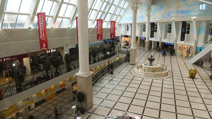 Торговые центры опустели: фоторепортаж о том, как Екатеринбург переживает карантин