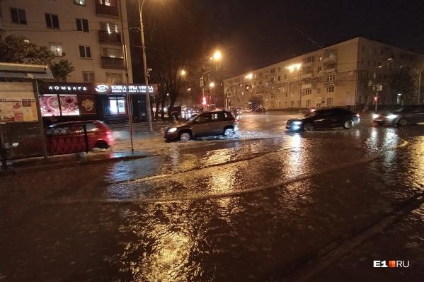 Улицы в Екатеринбурге скоро станут судоходными