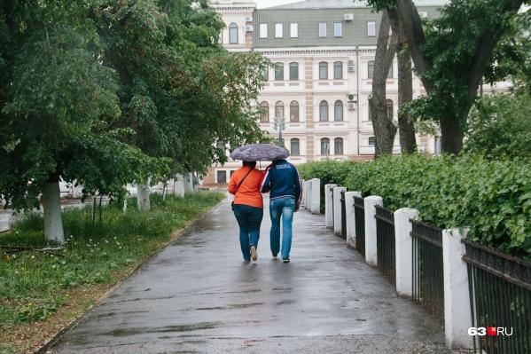 Зонты пока лучше далеко не убирать