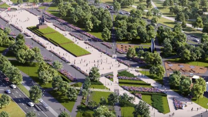 Центральный участок эспланады Перми капитально отремонтируют к осени 2022 года