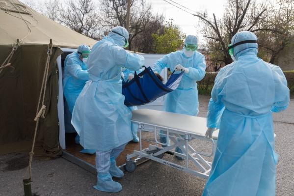 В Иловлинской ЦРБ остаются еще несколько зараженных коронавирусом
