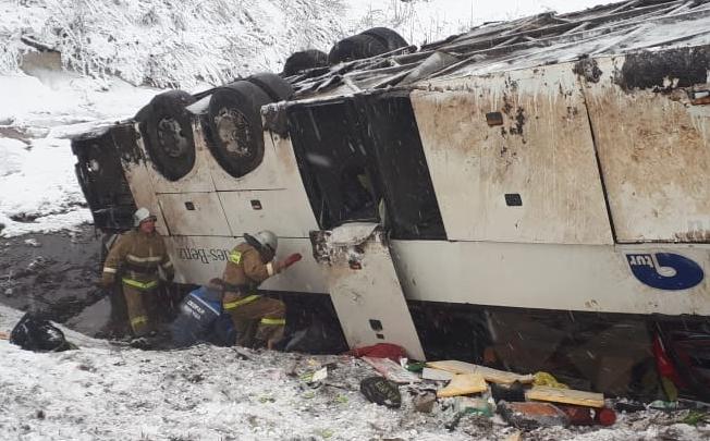 «Поедем на опознание»: под Тамбовом устанавливают личность погибшего в автобусе волгоградца