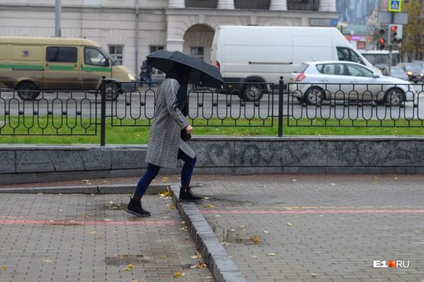 Погода в ближайшие сутки будет не самой приятной