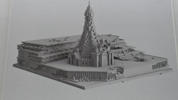 Как сейчас продвигается строительство храма Святой Екатерины? Отвечает Александр Высокинский