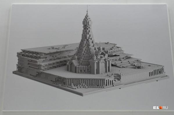 Недавно в Екатеринбурге показали эскиз будущего храма