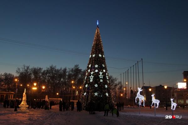 Решение о проведении мероприятий на площади Ленина могут принять накануне Нового года