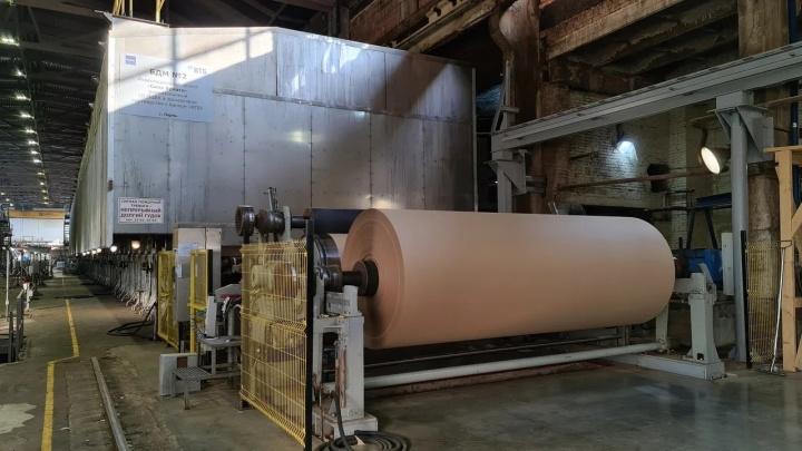 Более экологично и эффективно: «ПЦБК» завершила первый этап модернизации бумагоделательной машины