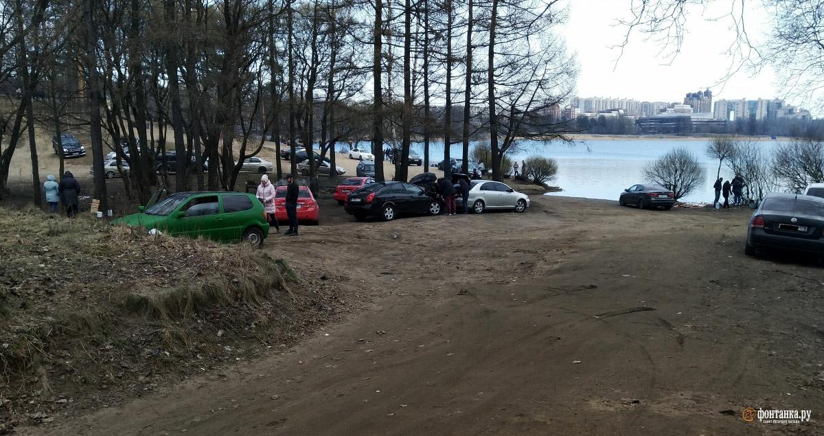 Горожане на Суздальских озерах.