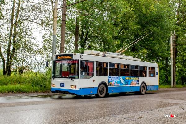 В Рыбинске планируют расширять зону действия электротранспорта