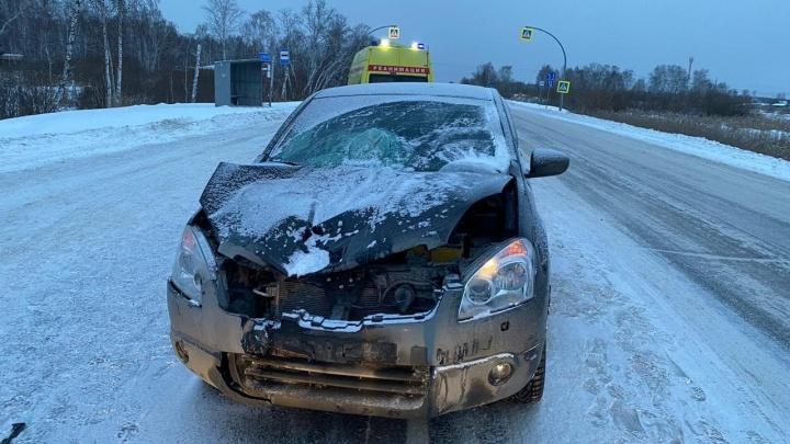 Не заметил из-за снега: водитель кроссовера под Тюменью насмерть сбил пенсионерку