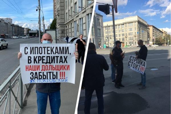 Люди до сих пор не могут добиться, чтобы власти признали ЖК «Покровский» долгостроем. Его обещали сдать еще в 2017 году