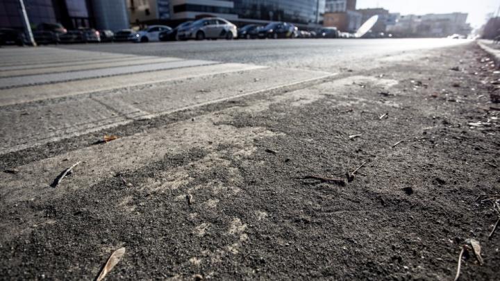 Наталья Котова заявила о вывозе сотен тонн грязи с дорог Челябинска. И признала, что этого не видно