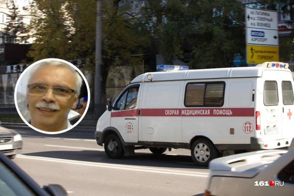 Николай Бардахчиян работал на подстанции № 4 скорой помощи