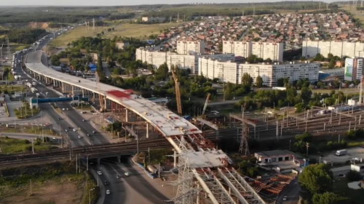 Свершилось! Смотрим, как соединяют трехуровневую развязку у Жигулевской ГЭС