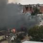 Черный дым столбом: в Дзержинском районе Волгограда потушили крупный пожар