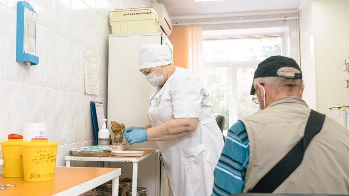 В самарских поликлиниках ограничили прием пациентов