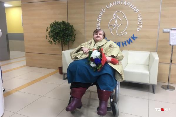 Спустя два месяца в больнице женщина отправится домой