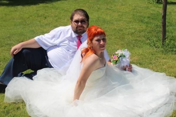 Александр и Арина поженились в середине июля