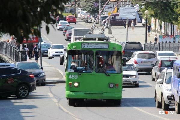 Старым троллейбусам скоро подыщут замену