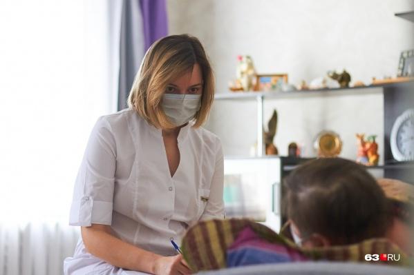 Часть зараженных COVID-2019 жителей региона находились на амбулаторном лечении
