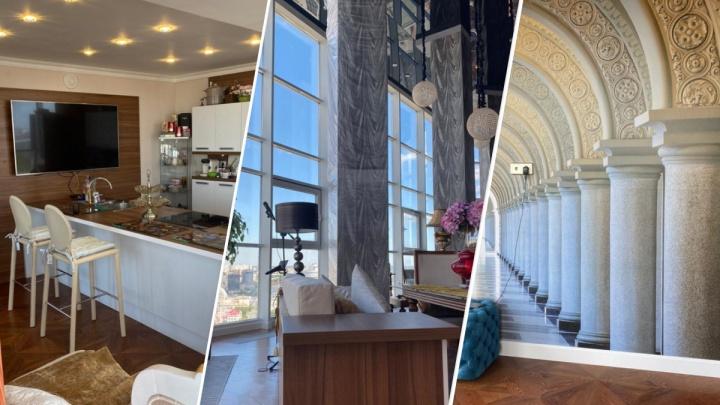 В Екатеринбурге за 65 миллионов продают трехэтажный пентхаус с 3D-обоями