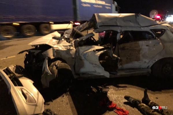 Водитель умер на месте происшествия