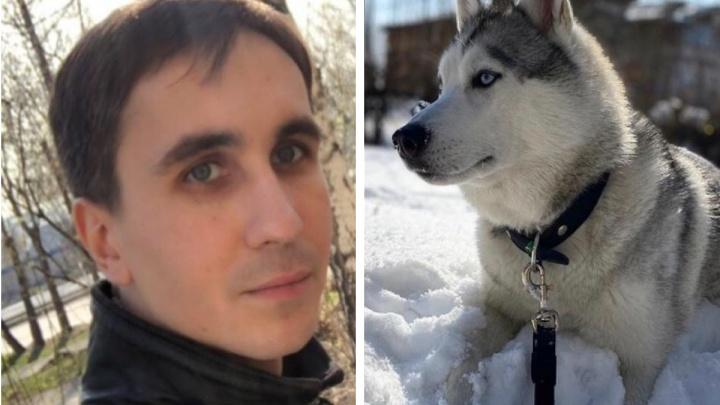 Пошёл выгуливать хаски и не вернулся: в Октябрьском районе пропал 32-летний мужчина