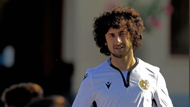 Хорен Байрамян дебютировал за сборную Армении