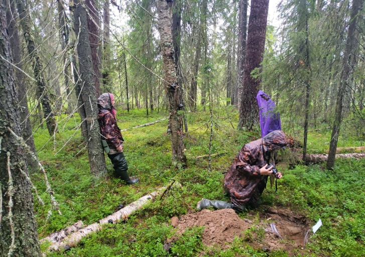 Последний день экспедиции оказался дождливым