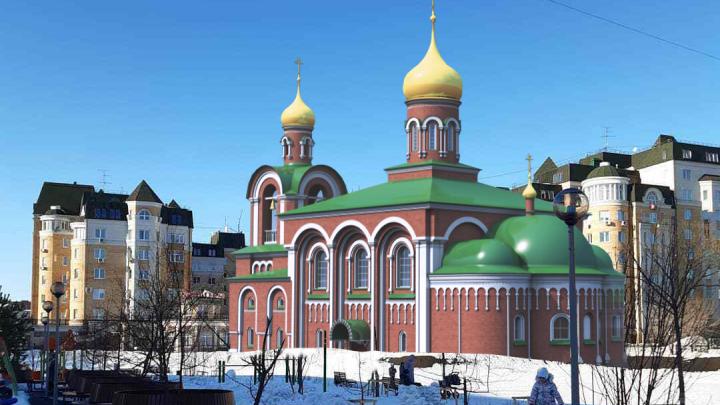 В тюменском микрорайоне построят православный храм. Он будет стоять рядом с готическим замком