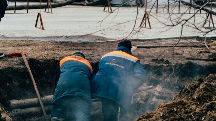 В Омске более 200 домов остались без отопления