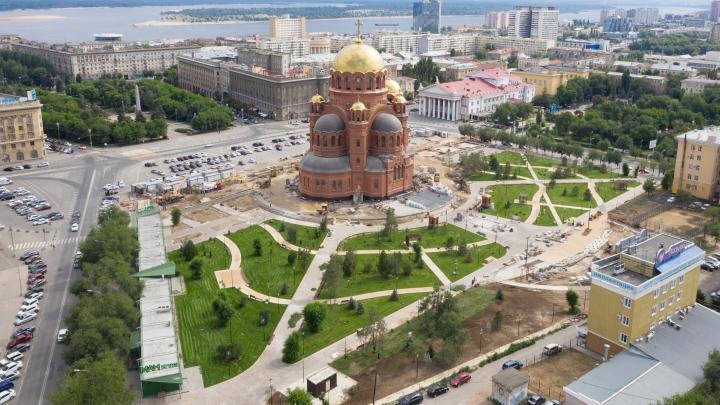 Волгоградцы назовут сквер за Александро-Невским собором: «Яндекс» и Google оказались быстрее