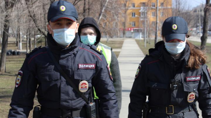 В Самаре полицейские проверят прохожих на соблюдение режима самоизоляции